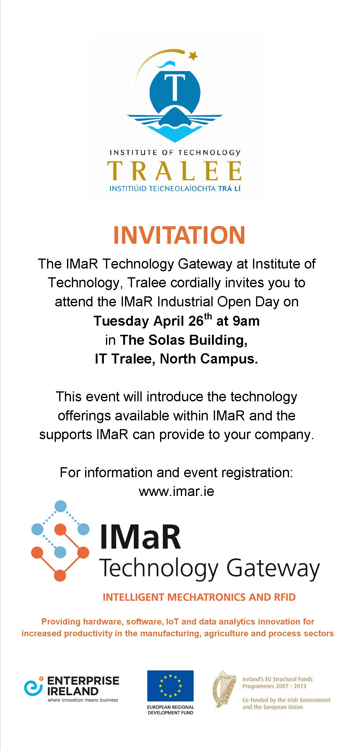 IMaR_Open_Day_Invitation